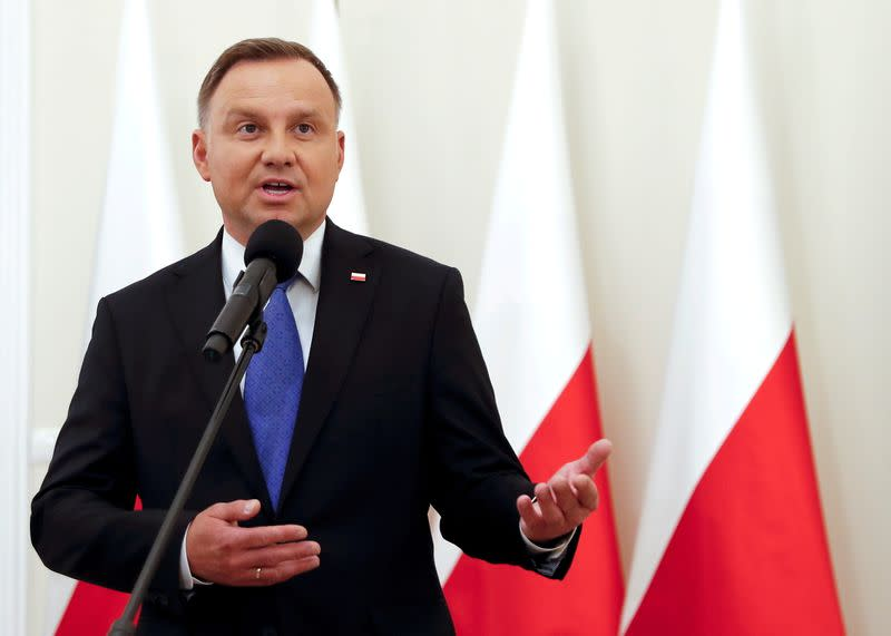 FILE PHOTO: Poland's presidential election