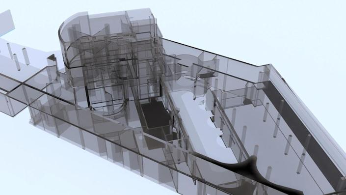 <p>A model of its volumes.<br></p>