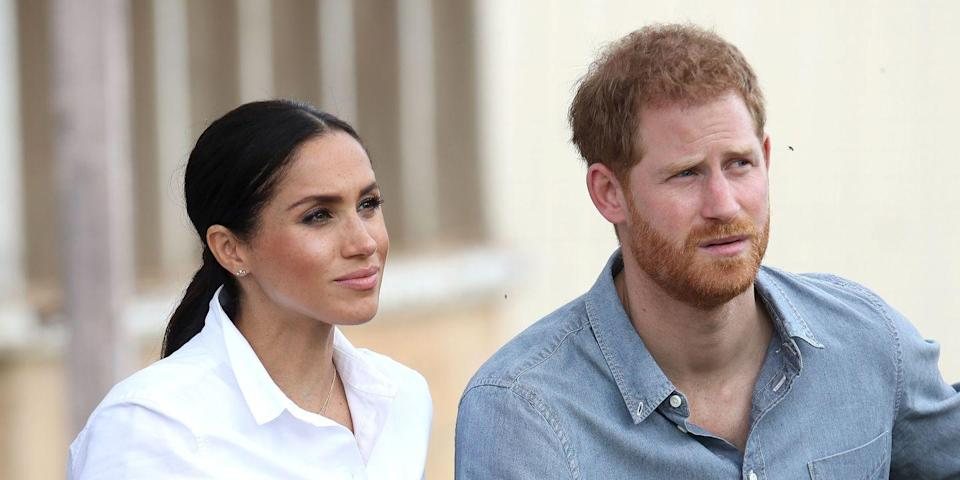 "Meghan and Harry's Netflix Deal Reportedly ""Raised Eyebrows"" Among the Royals"