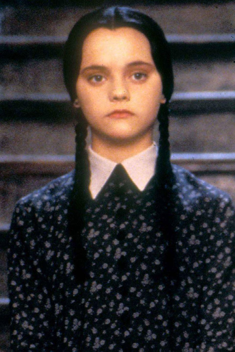 <p>This Halloween costume goes without explaining. Wednesday Addams was every creative girl's favorite rebel in the '90s. Just braid your hair and put on an unimpressed expression for this one. </p>
