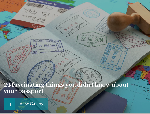 24 fascinating things you didn't know about your passport