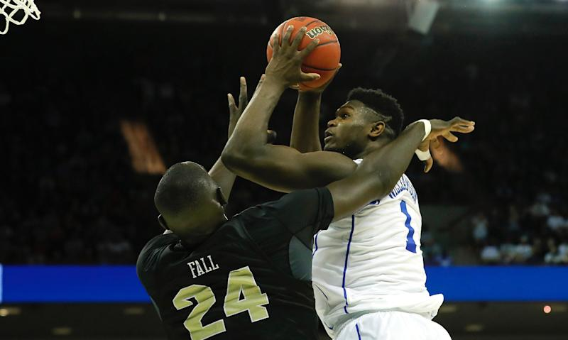 Zion Williamson will not dunk on me, says UCF's Tacko Fall