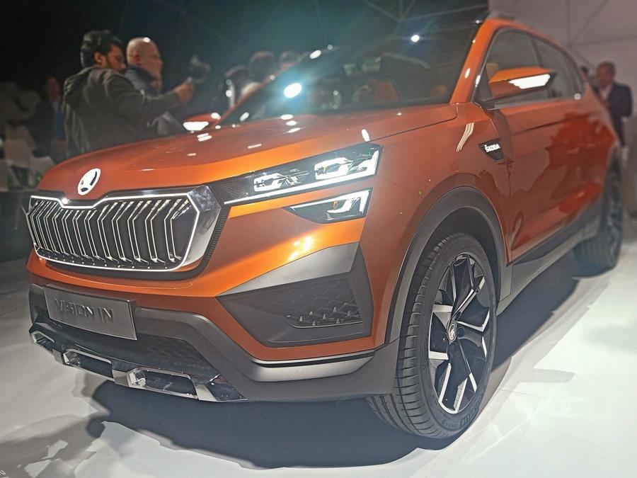 The Vision IN is more concept like, but mostly this SUV would be leading the Skoda arsenal for India. Like the VW, expect this SUV to be launched at the beginning of 2021.