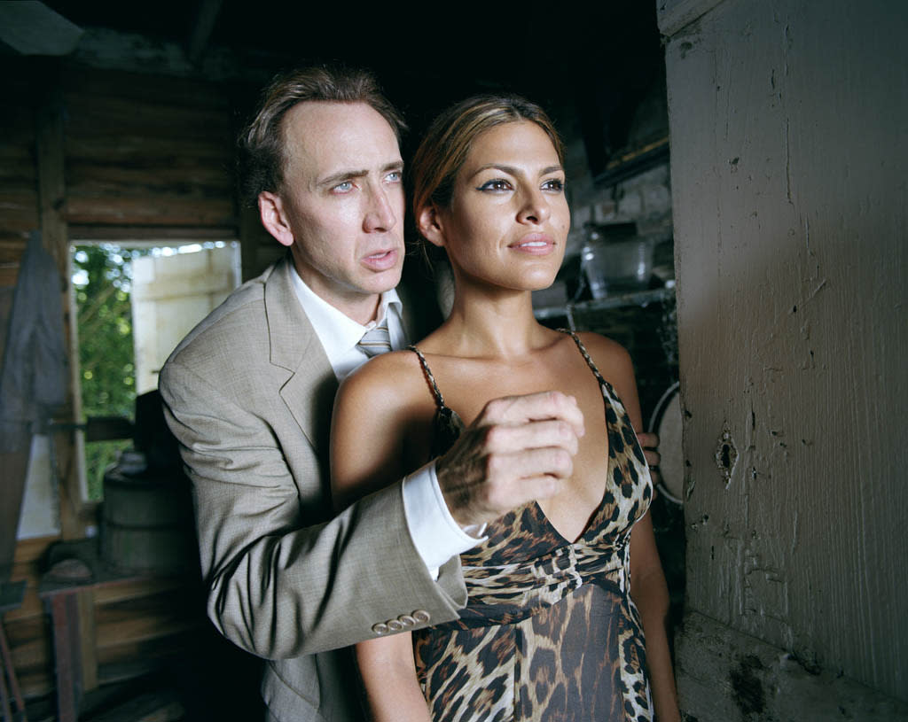 """<a href=""""http://movies.yahoo.com/movie/1810039830/info"""">Bad Lieutenant: Port of Call New Orleans</a> (2009): Here he is in classic crazed mode. Werner Herzog's wacked-out remake is fueled by a wacked-out performance from Cage, whose character is himself fueled by a steady supply of cocaine and heroin, gambling and violence. His Terence McDonagh is a brazenly corrupt detective, a man infested with dark proclivities. As he descends further into drug-induced mania in post-Katrina New Orleans, we don't know what's real and what's in his mind, and it doesn't matter. Cage makes it all wild and riveting, and all you can do is watch in awe of how far he'll go."""