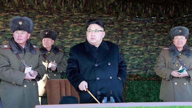 <p>North Korea said economic blockade of a country in times of peace constitutes an illegal act. </p>