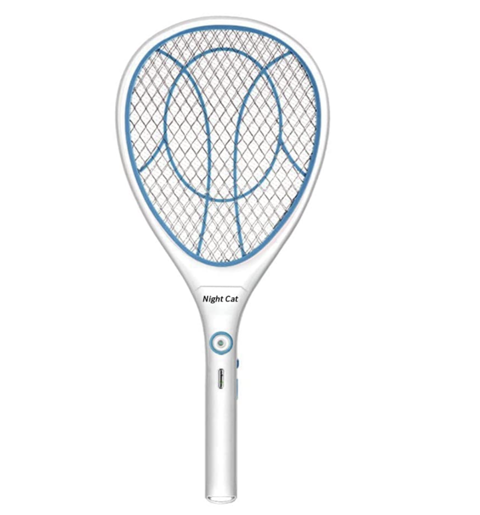 Night Cat Bug Zapper Racket - Amazon.
