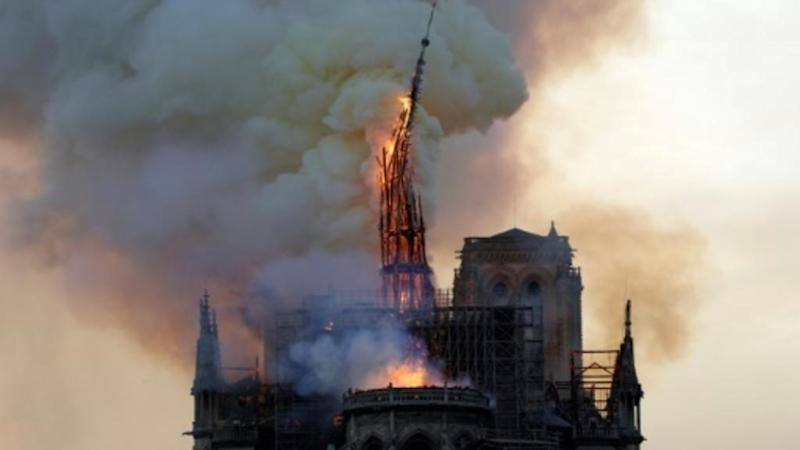 Public 'largely' in favour of Notre-Dame spire being rebuilt as it was