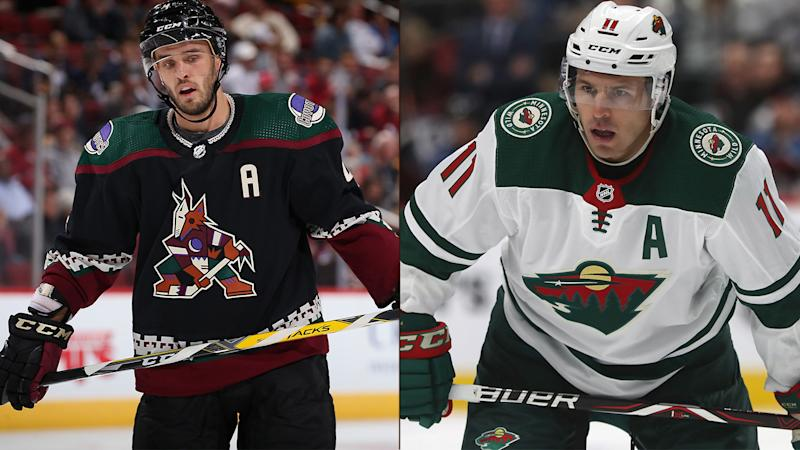 Nhl On Nbcsn Coyotes Hoping Goals Start Coming As They Visit Wild