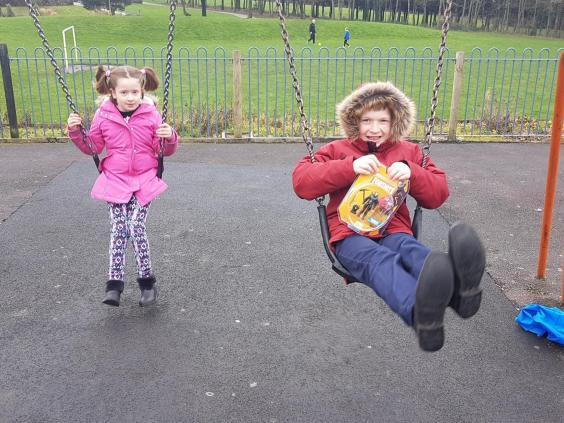 Ms Cullen's children – aged eight and nine and both of whom suffer from learning disabilities – would have to have been taken into care if she had been removed