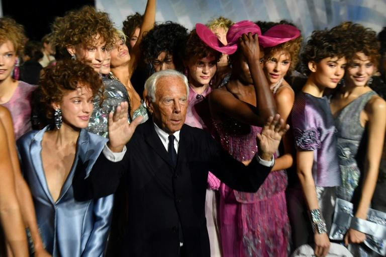 Italian designer Giorgio Armani wants outsiders to keep their hands off his fashion house