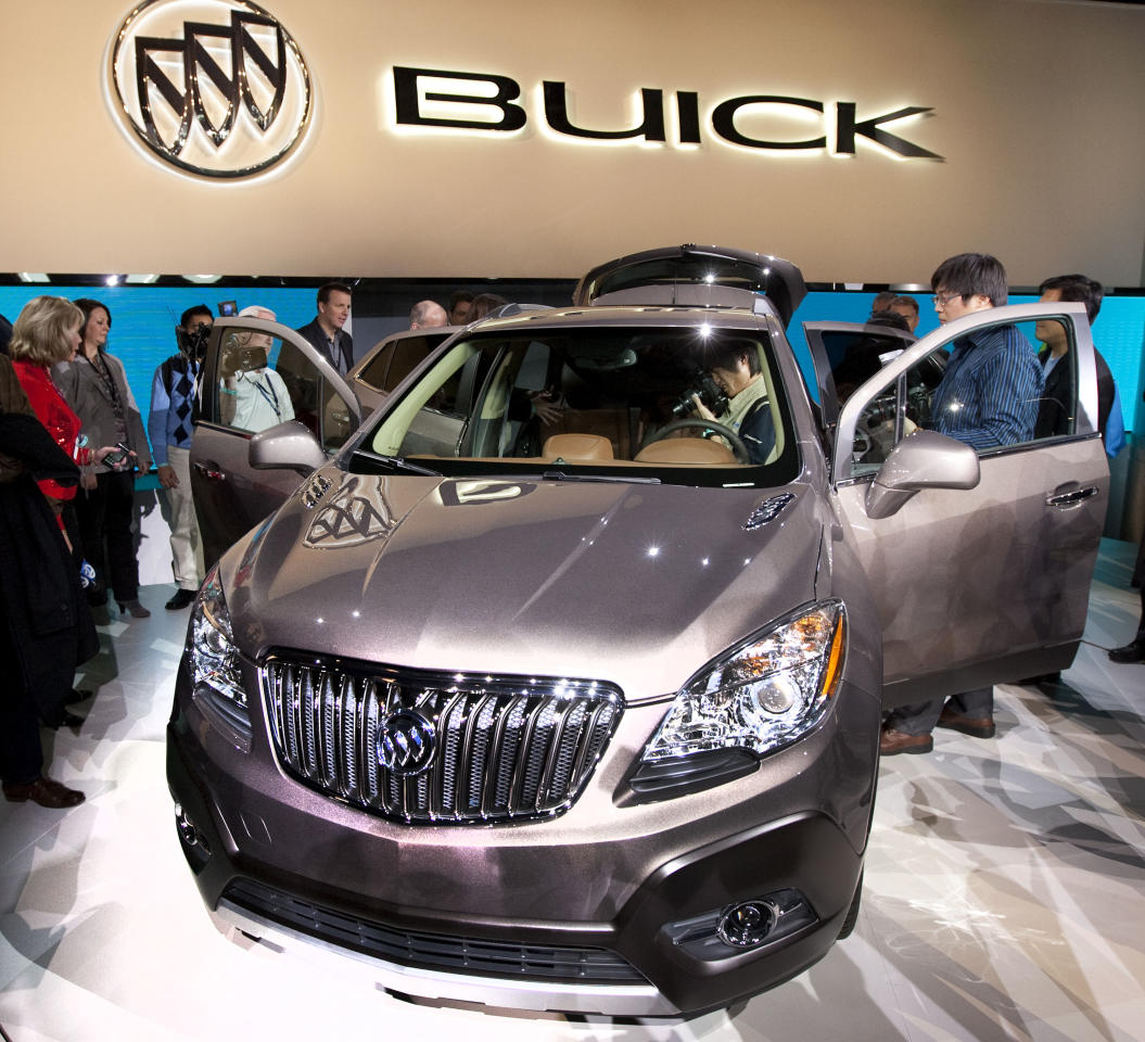 2013 buick encore. Black Bedroom Furniture Sets. Home Design Ideas