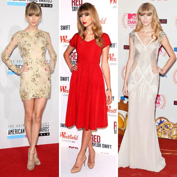"<b>Best dressed celebrities of 2012: Taylor Swift </b><br><br>The US singer impressed us with her sophisticated style choices this year, including an embellished <a target=""_blank"" href=""http://uk.lifestyle.yahoo.com/photos/top-10-best-dressed-celebrities-this-week-16-22-nov-slideshow/taylor-swift-photo-766457011.html"">Zuhair Murad mini dress</a>, a skater-style <a target=""_blank"" href=""http://uk.lifestyle.yahoo.com/photos/top-10-best-dressed-celebrities-this-week-2-8-nov-slideshow/taylor-swift-photo--432807870.html"">red midi dress</a> and a sequinned <a target=""_blank"" href=""http://uk.lifestyle.yahoo.com/photos/top-10-best-dressed-celebrities-this-week-9-15-nov-slideshow/taylor-swift-photo-168308360.html"">J. Mendel frock</a>.<br><br>© Rex"