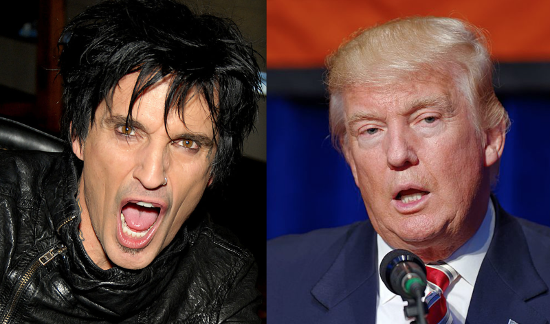 Mötley Crüe's Tommy Lee imagines life after Trump in epic political Twitter rant