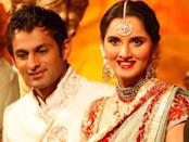<p>Sania was all set to tie the knot with a childhood friend, but love found her when she had least expected it. While engaged to Sohrab Mirza, she realized how incompatible of a couple they would make. Meanwhile, the former capt. of the Pakistani Cricket team had claimed quite some part of India's sports superstar. The rest is history. You are welcome, neighbour. Take good care of our girl. </p>