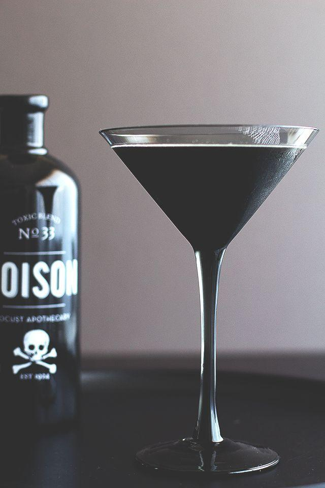 "<p>The secret to turning cocktails a festive-black? Squid ink.</p><p><em><a href=""http://honestlyyum.com/6888/the-blackbeard/"" rel=""nofollow noopener"" target=""_blank"" data-ylk=""slk:Get the recipe from Honestly Yum »"" class=""link rapid-noclick-resp"">Get the recipe from Honestly Yum »</a></em></p>"