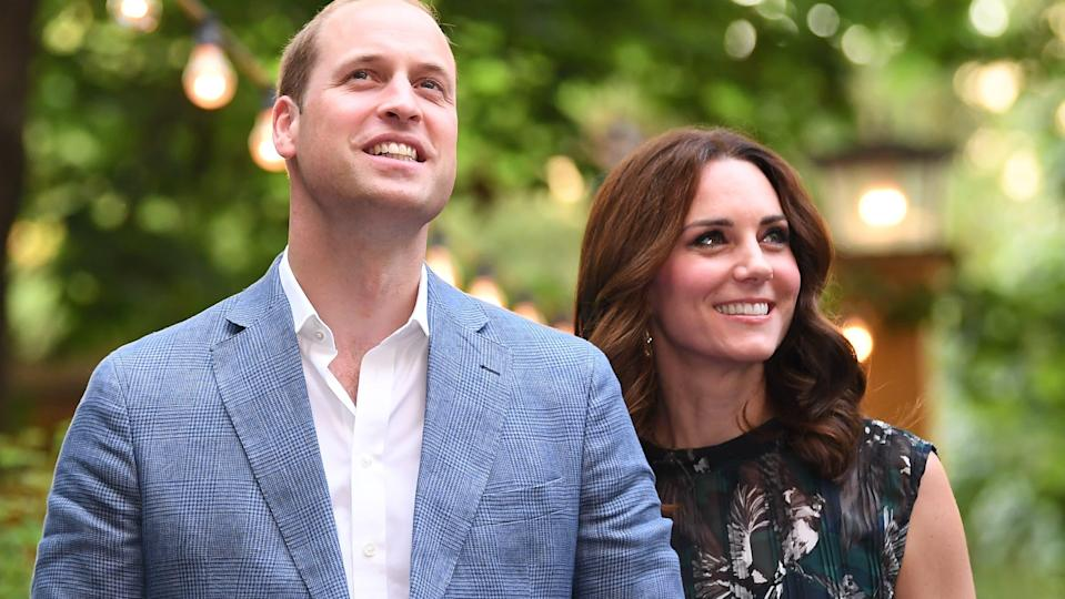 William et Kate en juinnet 2017 à Berlin - Britta Pedersen - Pool - AFP