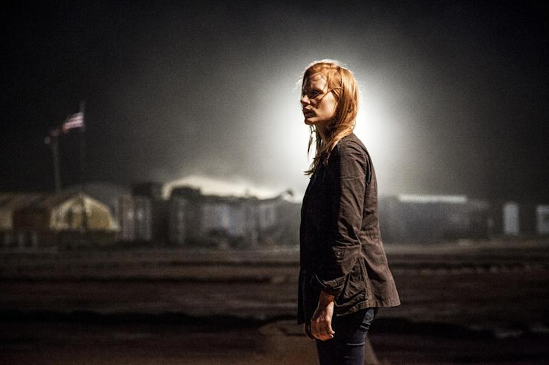Chastain in Zero Dark Thirty