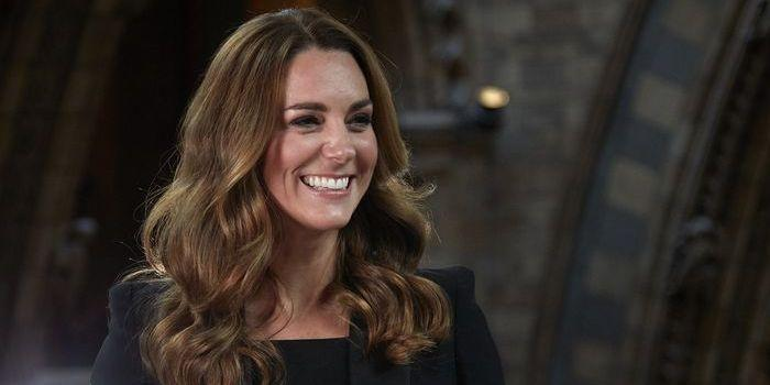 Kate Middleton just wore a black power suit at the Natural History Museum
