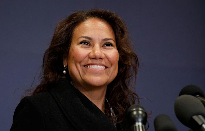Rep. Veronica Escobar, D-Texas. (Photo: Carolyn Kaster/AP)