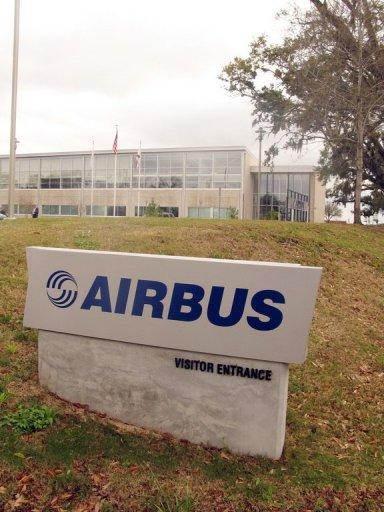 The European Aeronautic Defense and Space Company (EADS) facility in Mobile, Alabama is shown in 2008. European planemaker Airbus announced Monday it would open its first US assembly plant in Mobile, Alabama, and single-aisle passenger planes were expected to roll out in 2016