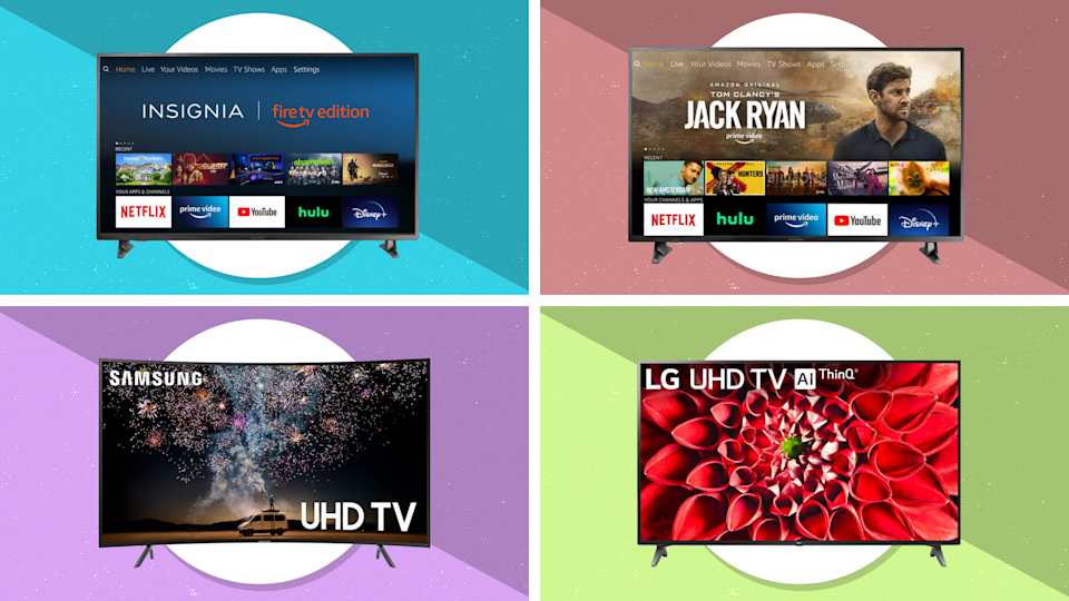 This year's Labor Day TV sales are a feast for the eyes...and oh so easy on your wallet. (Photos: Amazon)