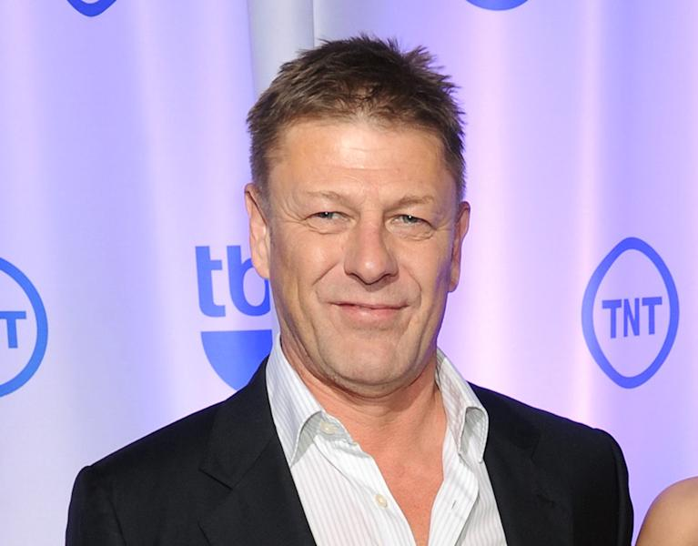 "FILE - In this May 15, 2013 file photo, British actor Sean Bean attends the TNT and TBS 2013 Upfront in New York. Bean, best known for his roles in ""The Lord of the Rings"" and ""Game of Thrones,"" was nominated for an International Emmy award his role in an episode of ""Accused"" in which he goes against his usual tough-man image. Bean plays a bored school teacher by day who becomes a transvestite by night and gets involved in an affair with a married man that leads to a brutal crime of passion. The awards will be presented at a ceremony on Nov. 25 at the Hilton New York Hotel. (Photo by Evan Agostini/Invision/AP, File)"