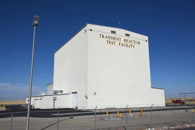 This 2017 photo shows the Idaho National Laboratory Transient Reactor Test Facility. (Photo: Chris Morgan/Idaho National Laboratory via AP)