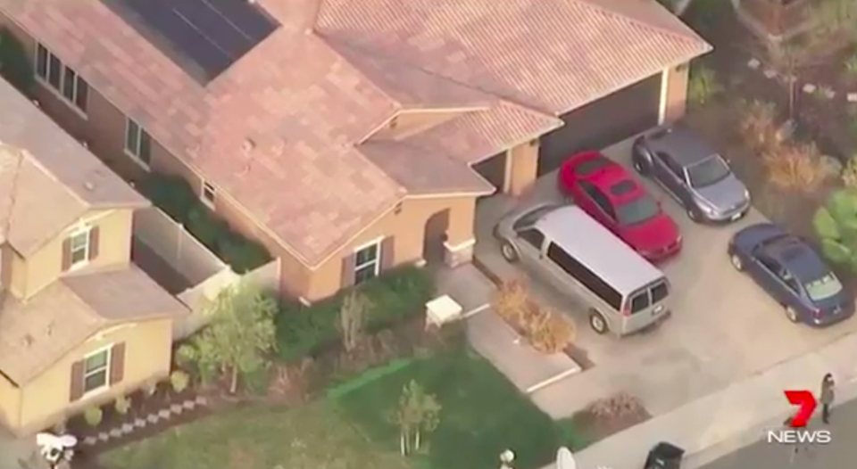 On the outside, the family home seemed relatively normal. Source: 7 News
