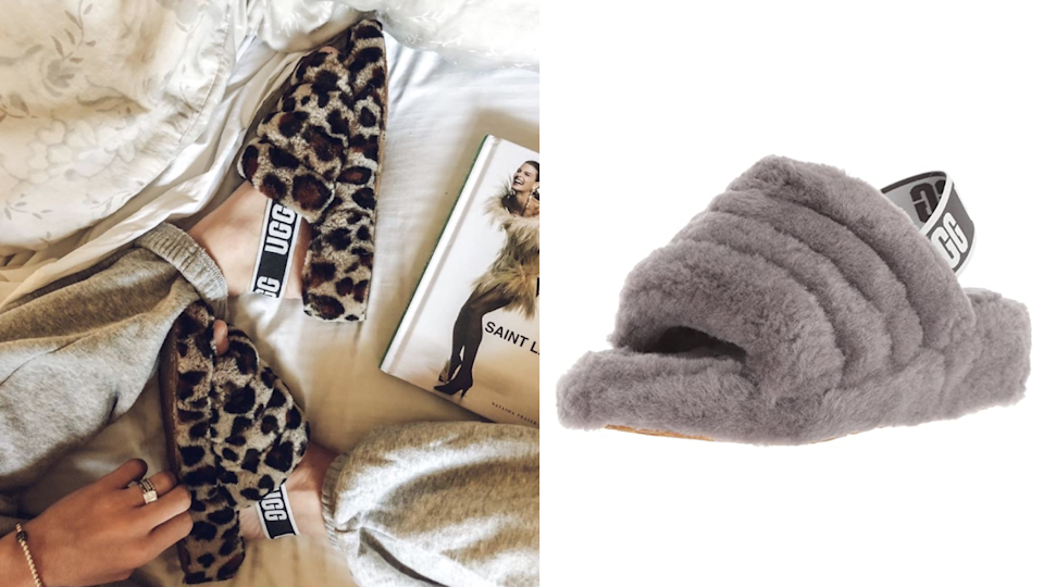 Best gifts for sisters 2020: Ugg Fluff Yeah Slippers
