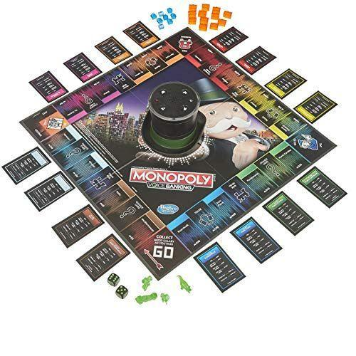 """<p><strong>Monopoly</strong></p><p>amazon.com</p><p><strong>$23.95</strong></p><p><a href=""""https://www.amazon.com/dp/B07MTSTYRL?tag=syn-yahoo-20&ascsubtag=%5Bartid%7C10055.g.29419638%5Bsrc%7Cyahoo-us"""" rel=""""nofollow noopener"""" target=""""_blank"""" data-ylk=""""slk:Shop Now"""" class=""""link rapid-noclick-resp"""">Shop Now</a></p><p>What makes this electronic version different from the classic game of Monopoly is the fact that <strong>all the banking is done via voice recognition — meaning there's no physical cash involved</strong>! Play with anywhere between two and four players, and you'll notice that the game goes by faster than Monopoly usually does. <em>Ages 8+</em></p><p><strong>RELATED</strong>: <a href=""""https://www.goodhousekeeping.com/childrens-products/board-games/g899/best-board-games/"""" rel=""""nofollow noopener"""" target=""""_blank"""" data-ylk=""""slk:The Best Board Games for the Whole Family"""" class=""""link rapid-noclick-resp"""">The Best Board Games for the Whole Family</a></p>"""
