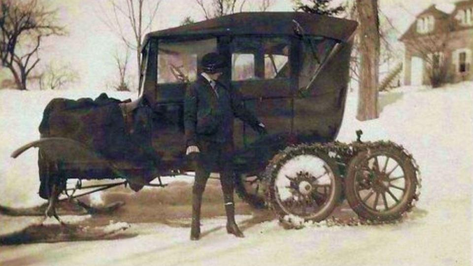 photo credit: Model T Ford Snowmobile Club
