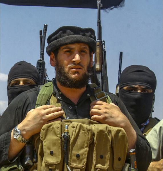 An undated picture taken from an online edition of the Islamic State's weekly magazine al-Nabaa, allegedly shows Abu Mohamed Al-Adnani, the then spokesman for the Islamic State, believed killed in Syria in August 2016 (AFP Photo/HO)