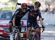 """<p><strong>Who's Winning the Tour?</strong></p><p>Michal Kwiatkowski has won a World Road Championship, Classics, and major stage races, but until today had never won a stage of a Grand Tour. That's at least partly because of his choice to join INEOS-Grenadiers (then Sky) in 2016 and become arguably the best support rider on the team for Chris Froome and <a href=""""https://www.bicycling.com/tour-de-france/a34037740/egan-bernal-drops-out-of-2020-tour-de-france/"""" rel=""""nofollow noopener"""" target=""""_blank"""" data-ylk=""""slk:Egan Bernal"""" class=""""link rapid-noclick-resp"""">Egan Bernal</a> in the Tour. But his reward came today when he and teammate Richard Carapaz emerged as the last survivors of the day's big breakaway and cruised to the finish comfortably ahead of the chase. It was an action-packed final day in the Alps, with big climbs, attacks, and even a gravel sector, but yellow jersey Primož Rogliç played it cooler than Miles Davis and was well-protected and supported all day by his Jumbo-Visma team. Short of a major mishap, or implosion on the Stage 20 time trial, he's all but assured of the win in Paris. </p><p><strong>Who's <em>Really</em> Winning the Tour?</strong></p><p>Roglič has one test left in the Tour, but Jumbo-Visma have passed all theirs with flying colors. They've been unquestionably the strongest team in the race and, aside from a first-week hiccup where they appeared to spend their effort too early one stage, have precisely and commandingly controlled the race. Roglič has spent scant few kilometers of the Tour without at least one teammate by his side. He was on the right side of every crosswind split, has never been put in serious difficulty in the mountains even after fierce attacks by rivals like Tadej Pogačar (UAE-Emirates), and has nearly a minute advantage on Pog. He won't breathe a sigh of relief until after the tricky Stage 20 time trial, however, which ends with a steep climb of the Planche des Belles Filles. But the route is ideally suited to his capa"""