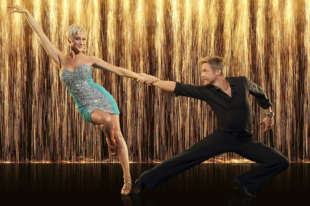 """Singer song-writer Kellie Pickler partners with Derek Hough on """"Dancing With the Stars"""" Season 16, premiering March 18 on ABC."""