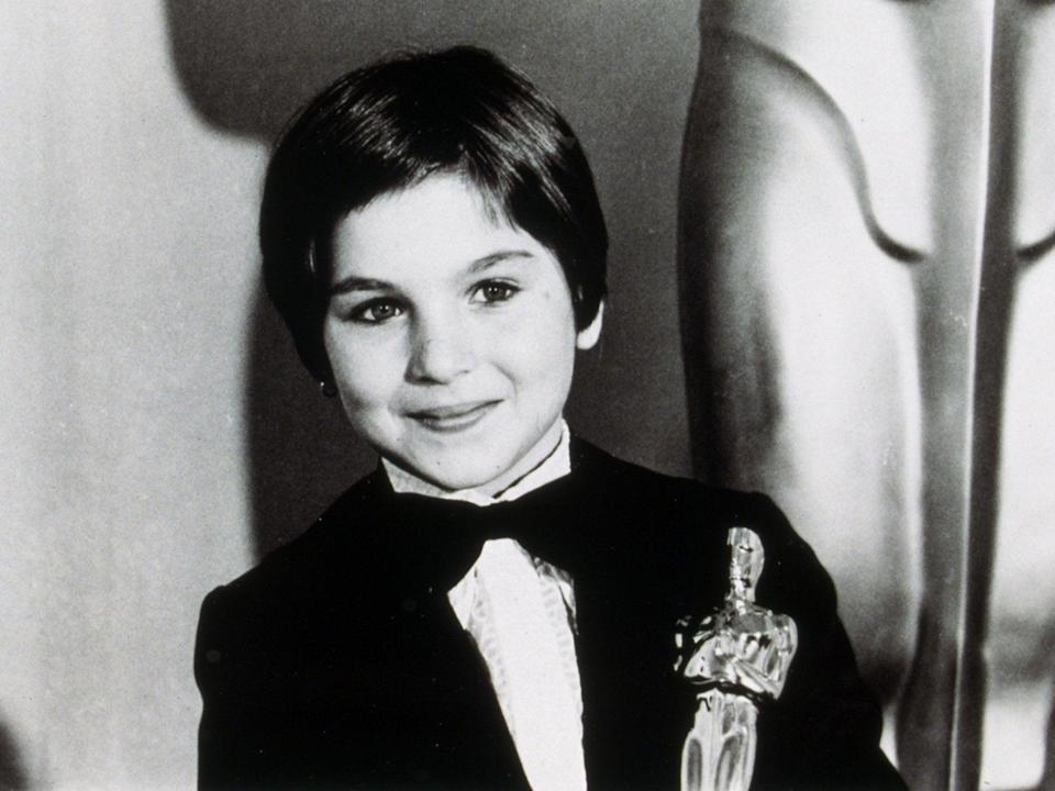 O'Neal became the youngest Oscar winner ever in 1974Rex