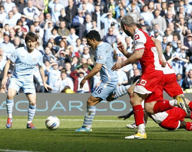 Aguero's dramatic late winner against QPR in 2012 will live long in the memory