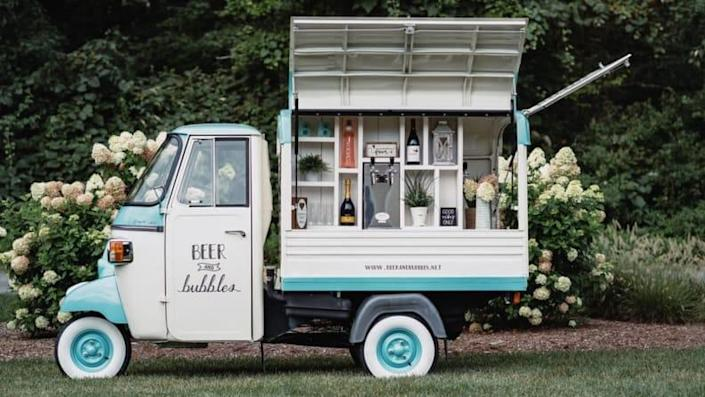 Personalize your reception with your favorite food and drink