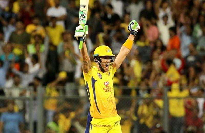 Faf du Plessis opens for CSK but not for South Africa