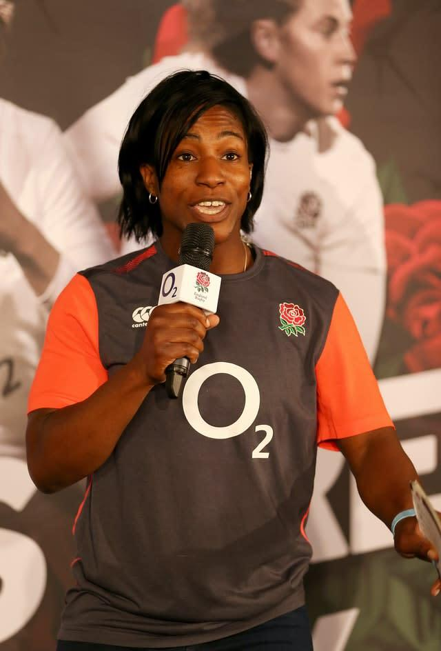 Maggie Alphonsi says Swing Low, Sweet Chariot no longer sits easily with her (Steven Paston/PA)