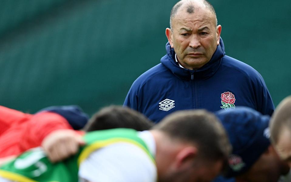 England head coach Eddie Jones - Why the next two weeks of Premiership action may determine England's fate at 2023 Rugby World Cup - EPA