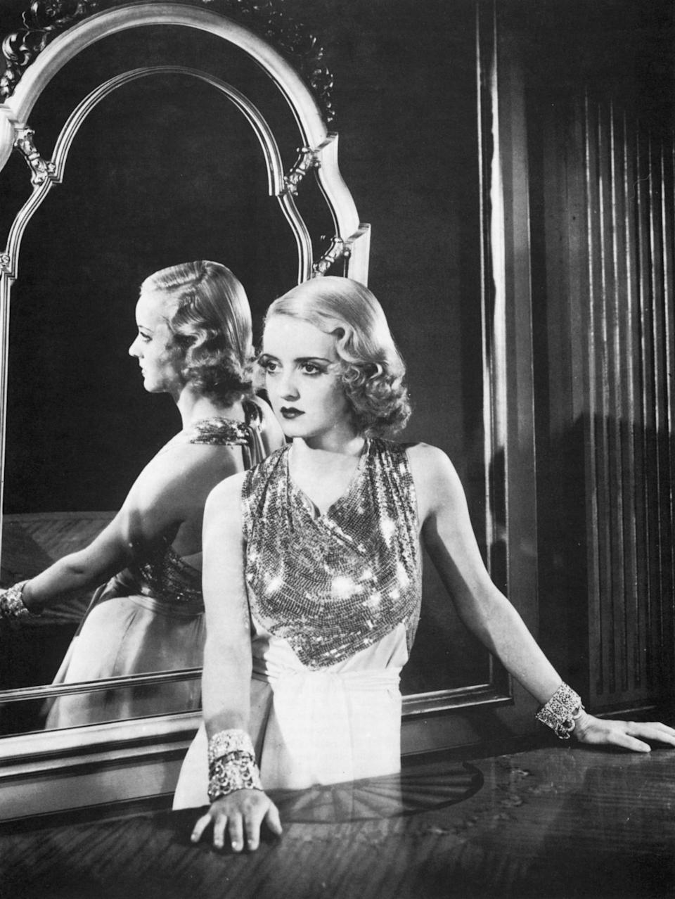 "Bette Davis en ""The Rich Are Always With Us"", 1932 (Getty Images)"