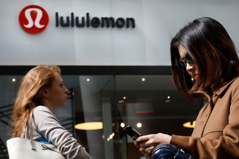 Lululemon's quarterly results disappoint on virus hit, shares fall