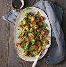 """<p>You won't be able to resist your veggies when they're extra-crispy and coated in brown sugar-balsamic vinegar sauce.</p><p><em><a href=""""https://www.goodhousekeeping.com/food-recipes/easy/a35179/roasted-sweet-sour-brussels-sprouts/"""" rel=""""nofollow noopener"""" target=""""_blank"""" data-ylk=""""slk:Get the recipe for Roasted Sweet and Sour Brussels Sprouts »"""" class=""""link rapid-noclick-resp"""">Get the recipe for Roasted Sweet and Sour Brussels Sprouts »</a></em></p>"""