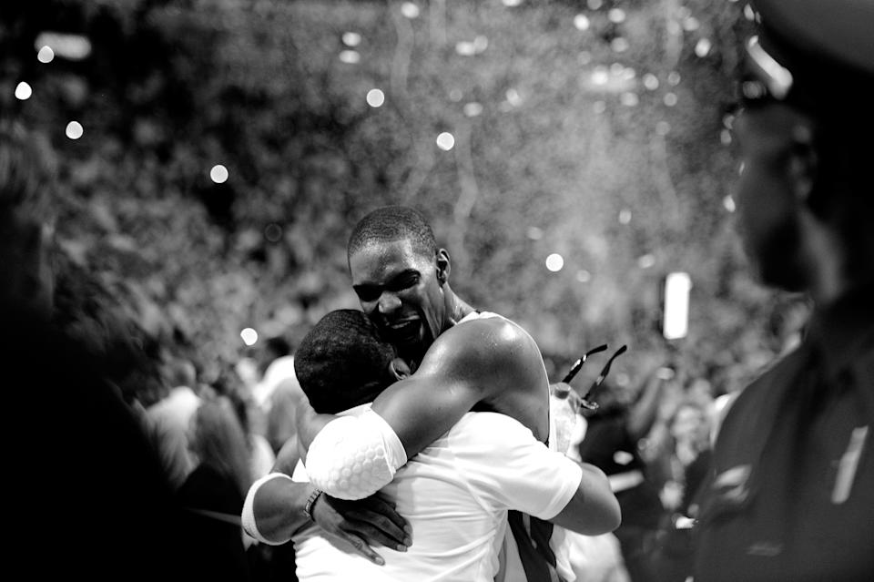 The Miami Heat do not win their two championships without Chris Bosh. (Ronald Martinez/Getty Images)