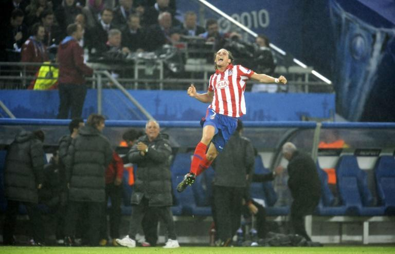 Diego Forlan's two goals won Atletico Madrid the Europa League final against Fulham in 2010