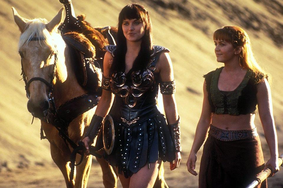 Xena -Warrior Princess, Lucy Lawless, Renee O'Connor