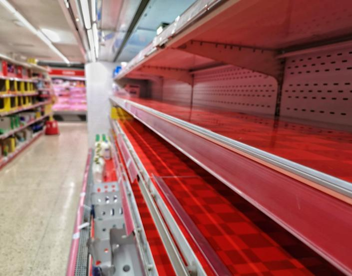 Retailers are taking proactive measures to avoid the empty store shelves shoppers encountered early on in the pandemic. (Photo: Getty Creative stock photo)