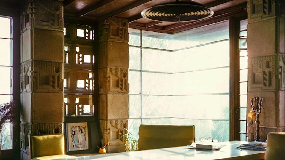 The light-filled office space within the residence. - Credit: Dan Soderberg 1972/Freeman House Photographic Portfolio