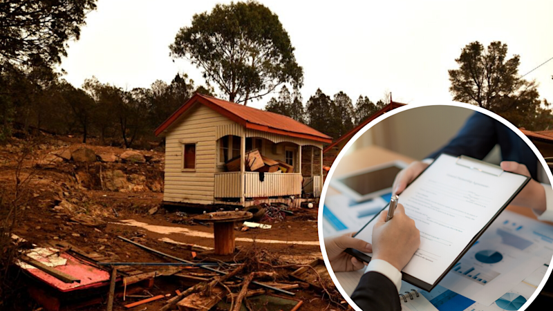 If your property was ravaged by the bushfires, here's how to make an insurance claim. (Source: Getty)
