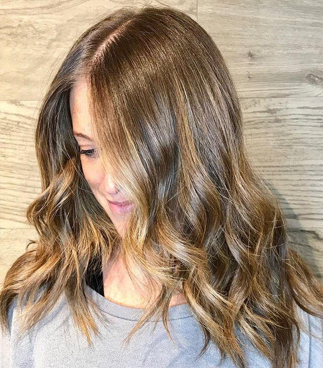 """<p>A good balayage will simply look like you spent the summer in the sun—as seen here. Tell your colorist you want grown out sun-kissed balayage. And, for those who were lucky enough to have <em>actually</em> spent the summer in the sun, simply let your naturally sun-kissed hair grow out! </p><p><a href=""""https://www.instagram.com/p/Bbx7rdMh0Jn/?utm_source=ig_embed&utm_campaign=loading"""" rel=""""nofollow noopener"""" target=""""_blank"""" data-ylk=""""slk:See the original post on Instagram"""" class=""""link rapid-noclick-resp"""">See the original post on Instagram</a></p>"""